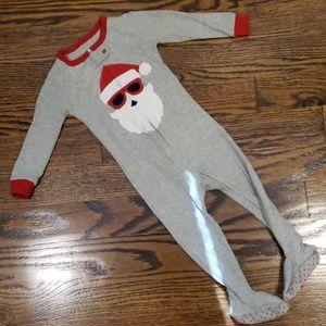 Baby Gap Christmas Onesie Footed Pajama